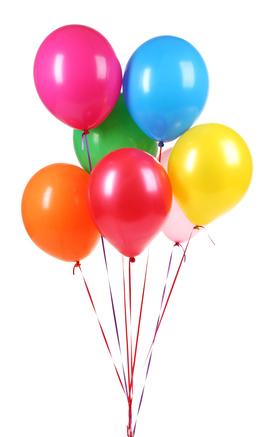 Lustiges Geburtstagsspiel: Fliegende Luftballons